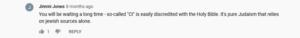 Visser, posting as Jimmi Jones, disavows CI.